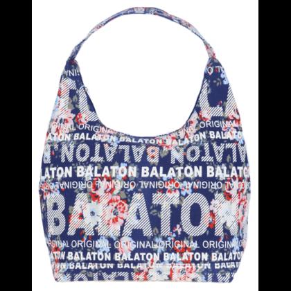 Válltáska női Balaton feliratos, virágos Csilla-I