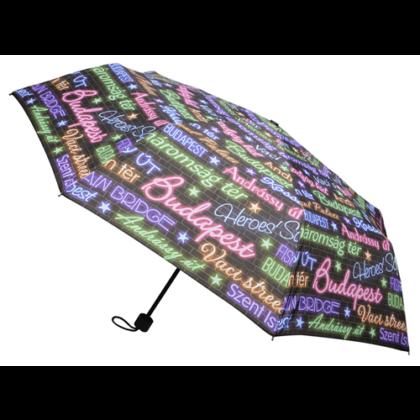 Esernyő női Budapest feliratos Dóra-F