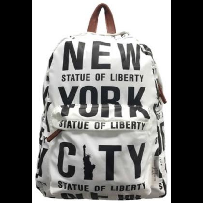 Hátizsák unisex New York mintás Finn NY-A