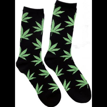 Férfi zokni cannabis mintás Péter-A