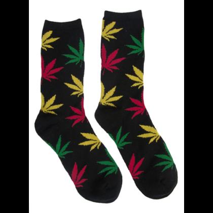 Férfi zokni cannabis mintás Péter-B
