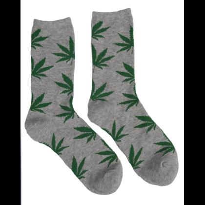 Férfi zokni cannabis mintás Péter-C