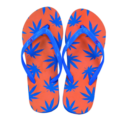 Női strandpapucs cannabis mintás Zsanett-A S