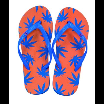 Strandpapucs női cannabis mintás Zsanett-A S