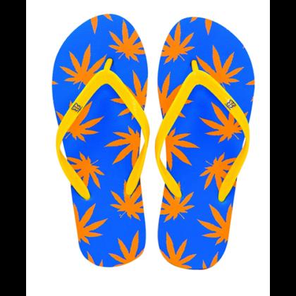 Strandpapucs női cannabis mintás Zsanett-F S