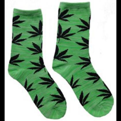 Zokni női cannabis mintás Kitty-J