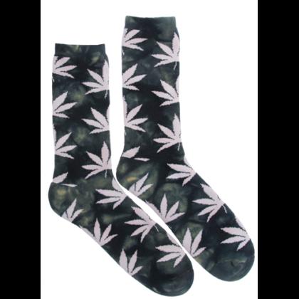 Férfi zokni cannabis mintás Pál-I