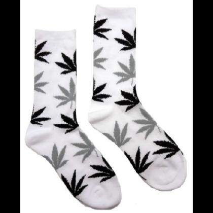 Női zokni cannabis mintás Kitty-M