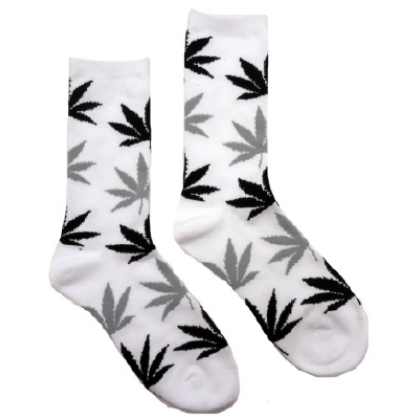 Zokni női cannabis mintás Kitty-M