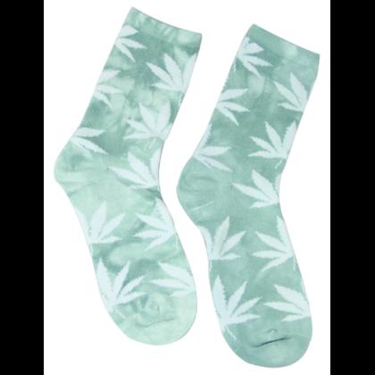 Zokni női cannabis mintás Edina-R
