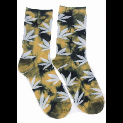 Zokni női cannabis mintás Edina-X