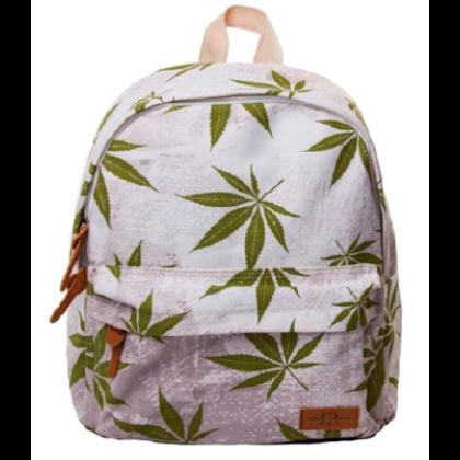 Hátizsák unisex cannabis mintás Máté-C