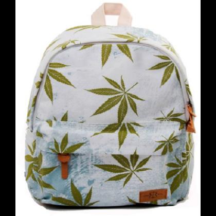 Hátizsák unisex cannabis mintás Máté-D