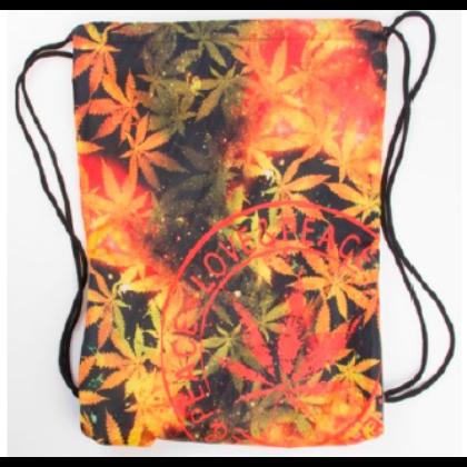 Tornazsák unisex cannabis mintás Lőrinc-D
