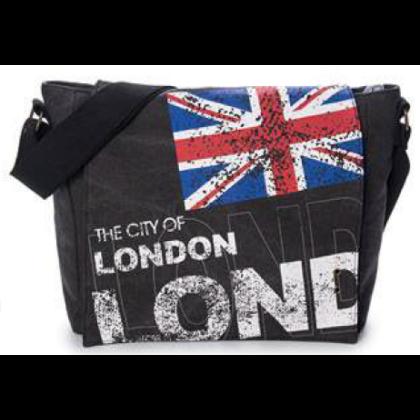 Válltáska férfi London feliratos Alex L- L-C