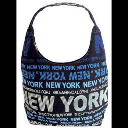 Válltáska női New York feliratos Julia L- NY-B