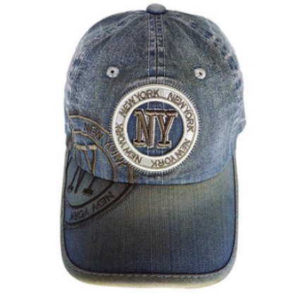 Baseball sapka unisex New York feliratos Jim Denim NY-B