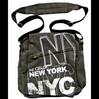 Férfi táska New York feliratos Alex S-NY-A
