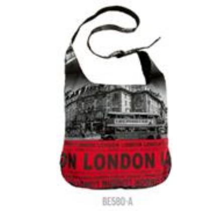 Női táska London feliratos és fényképes Hanna L- A