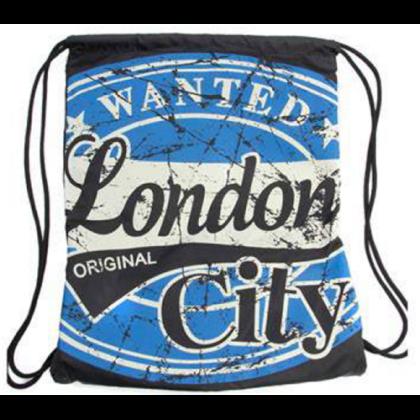 Férfi tornazsák London feliratos Mason Wanted L-A