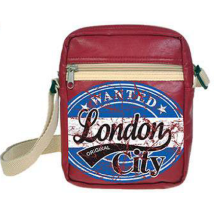 Férfi útlevél táska London feliratos Toby Wanted L-C