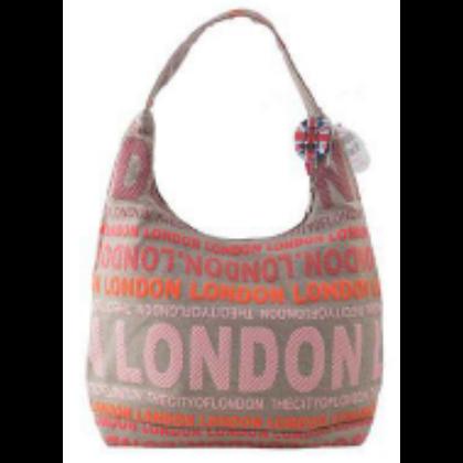 Női táska London feliratos Julia L- L-A