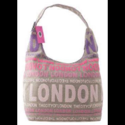 Női táska London feliratos Julia L- L-C