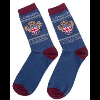 Férfi zokni London feliratos Socks L-E