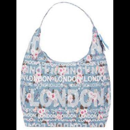 Női táska London feliratos Julia L- L-A Flower