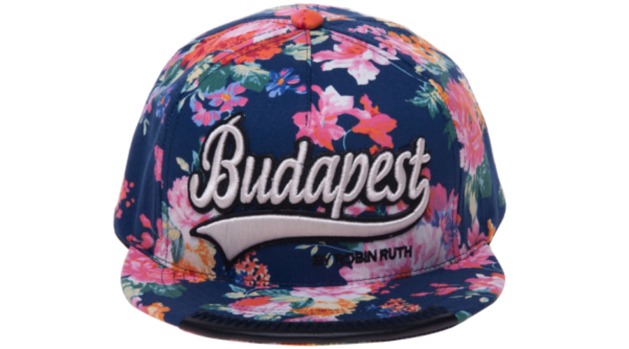 Női baseball sapka Budapest feliratos színes 4f6fd499f5