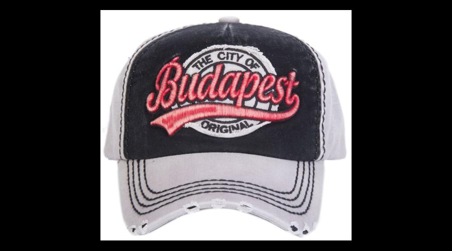Baseball sapka férfi Budapest feliratos Kornél-B - Sapka - Robin ... 985b371242